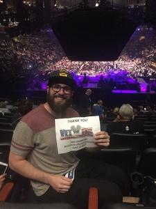 Jason attended Neil Diamond - the 50 Year Anniversary World Tour on Jun 15th 2017 via VetTix