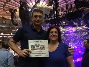 Steven attended Neil Diamond - the 50 Year Anniversary World Tour on Jun 15th 2017 via VetTix