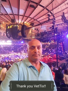Antonio attended Neil Diamond - the 50 Year Anniversary World Tour on Jun 15th 2017 via VetTix