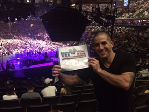 LANOLA attended Neil Diamond - the 50 Year Anniversary World Tour on Jun 15th 2017 via VetTix