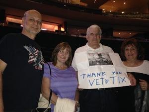 douglas attended Neil Diamond - the 50 Year Anniversary World Tour on Jun 17th 2017 via VetTix