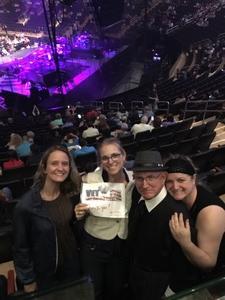 LANOLA attended Neil Diamond - the 50 Year Anniversary World Tour on Jun 17th 2017 via VetTix