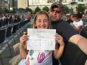 Randal attended Third Eye Blind - Summer Gods Tour - Special Guests Silversun Pickups - Reserved Seats on Jun 17th 2017 via VetTix