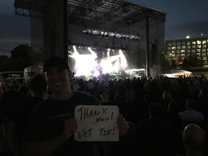 Gregory attended Third Eye Blind - Summer Gods Tour - Special Guests Silversun Pickups - Reserved Seats on Jun 17th 2017 via VetTix