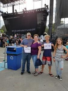 Thomas attended Third Eye Blind - Summer Gods Tour - Special Guests Silversun Pickups - Reserved Seats on Jun 17th 2017 via VetTix