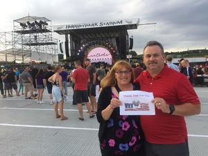 Robert attended Train - Play That Song Tour With Natasha Bedingfield and O.a.r. on Jun 17th 2017 via VetTix