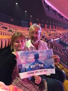 Julio attended Tim McGraw & Faith Hill: Soul2Soul the World Tour 2017 on Jul 7th 2017 via VetTix