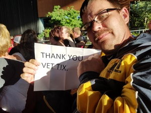 George attended Your United We Rock Tour 2017 - Styx and Reo Speedwagon With Don Felder on Jun 21st 2017 via VetTix
