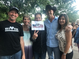 Ryan attended Soul2Soul With Tim McGraw and Faith Hill on Jul 31st 2017 via VetTix