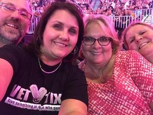 Gracee attended Soul2Soul With Tim McGraw and Faith Hill on Jul 31st 2017 via VetTix