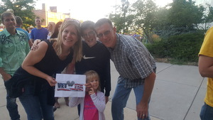 Stan attended Soul2Soul With Tim McGraw and Faith Hill on Jul 31st 2017 via VetTix