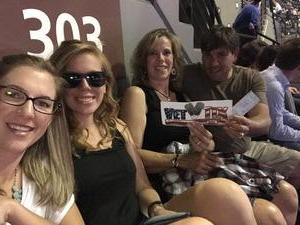 Randy attended Soul2Soul With Tim McGraw and Faith Hill on Jul 31st 2017 via VetTix