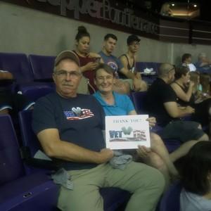 John V. attended Arizona Rattlers vs. Nebraska Danger - IFL Playoffs on Jun 24th 2017 via VetTix