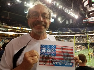 Ronald attended Arizona Rattlers vs. Nebraska Danger - IFL Playoffs on Jun 24th 2017 via VetTix