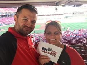 Kandy attended Cincinnati Reds vs. Milwaukee Brewers - MLB on Jun 29th 2017 via VetTix