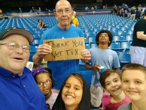 Bob attended Tampa Bay Rays vs. Baltimore Orioles - MLB - Lower Level Seating on Jul 25th 2017 via VetTix