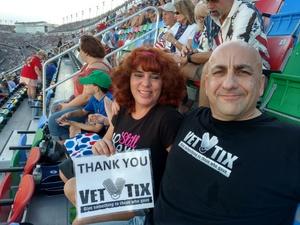 Roberto attended Coke Zero 400 Powered by Coca Cola - Monster Energy NASCAR Cup Series on Jul 1st 2017 via VetTix