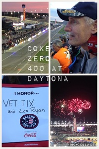 Leo R attended Coke Zero 400 Powered by Coca Cola - Monster Energy NASCAR Cup Series on Jul 1st 2017 via VetTix