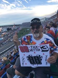 David attended Coke Zero 400 Powered by Coca Cola - Monster Energy NASCAR Cup Series on Jul 1st 2017 via VetTix