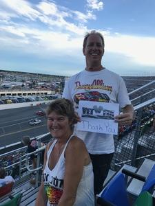 Brian attended Coke Zero 400 Powered by Coca Cola - Monster Energy NASCAR Cup Series on Jul 1st 2017 via VetTix