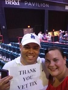 Sergio attended Lady Antebellum You Look Good World Tour With Special Guest Kelsea Ballerini, and Brett Young - Reserved Seats on Jun 23rd 2017 via VetTix