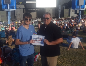 Jason attended Brad Paisley With Special Guest Dustin Lynch, Chase Bryant, and Lindsay Ell - Lawn Seats on Jun 17th 2017 via VetTix