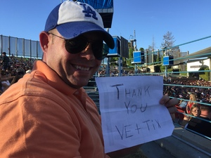 thomas attended Brad Paisley With Special Guest Dustin Lynch, Chase Bryant, and Lindsay Ell - Lawn Seats on Jun 17th 2017 via VetTix