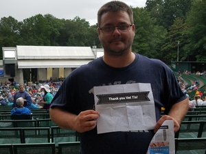 Michael attended Lindsey Buckingham and Christine Mcvielindsey With the Wallflowers - Reserved Seats on Jun 21st 2017 via VetTix
