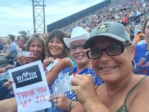 Lori attended The Moody Blues: Days of Future Passed - 50th Anniversary Tour on Jul 12th 2017 via VetTix