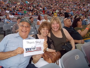 Samuel G. attended The Moody Blues: Days of Future Passed - 50th Anniversary Tour on Jul 12th 2017 via VetTix