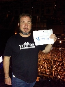 Michael attended Daryl Hall, John Oates and Tears for Fears With a Special Acoustic Performance by Allen Stone on Jul 11th 2017 via VetTix