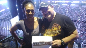 Daniel attended Daryl Hall, John Oates and Tears for Fears With a Special Acoustic Performance by Allen Stone on Jul 11th 2017 via VetTix