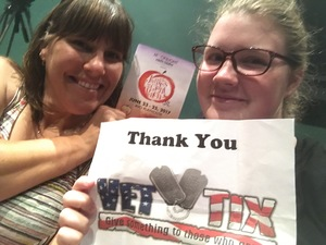 Cynthia attended James and the Giant Peach Jr. - Matinee on Jun 24th 2017 via VetTix