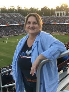 Angela attended San Jose Earthquakes vs. LA Galaxy - MLS - Salute to the Military - Giveaways & Fireworks! on Jul 1st 2017 via VetTix