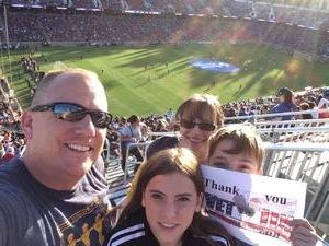 GARLAND attended San Jose Earthquakes vs. LA Galaxy - MLS - Salute to the Military - Giveaways & Fireworks! on Jul 1st 2017 via VetTix