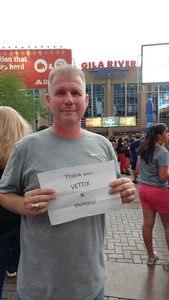 Charles attended Shawn Mendes - Illuminate World Tour With Special Guest Charlie Puth on Jul 15th 2017 via VetTix