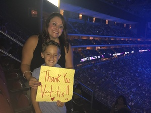 Amber attended Shawn Mendes - Illuminate World Tour With Special Guest Charlie Puth on Jul 15th 2017 via VetTix