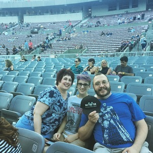 Carlo attended Goo Goo Dolls: Long Way Home Summer Tour With Phillip Phillips on Aug 13th 2017 via VetTix