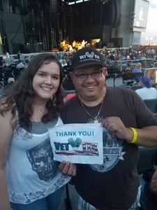 Paul attended Goo Goo Dolls: Long Way Home Summer Tour With Phillip Phillips on Aug 13th 2017 via VetTix
