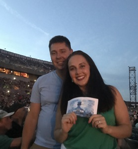 allyson attended Goo Goo Dolls: Long Way Home Summer Tour With Phillip Phillips on Aug 13th 2017 via VetTix