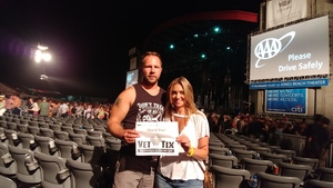 Ryan attended Goo Goo Dolls: Long Way Home Summer Tour With Phillip Phillips on Aug 13th 2017 via VetTix