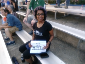 Mayra attended Sad Clowns and Hillbillies Tour - John Mellencamp With Emmylou Harris, Carlene Carter, Lily and Madeleine on Jul 11th 2017 via VetTix