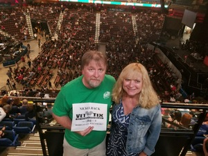 Mark attended Nickelback - Feed the Machine Tour With Special Guest Daughtry and Shaman's Harvest on Jul 13th 2017 via VetTix