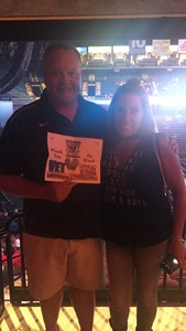 Thomas attended Nickelback - Feed the Machine Tour With Special Guest Daughtry and Shaman's Harvest on Jul 13th 2017 via VetTix