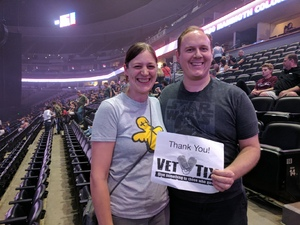 Chris attended Queen + Adam Lambert Live at the Pepsi Center on Jul 6th 2017 via VetTix
