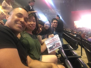 The Bradleys attended Queen + Adam Lambert Live at the Pepsi Center on Jul 6th 2017 via VetTix