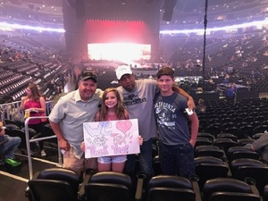 Jon attended Queen + Adam Lambert Live at the Pepsi Center on Jul 6th 2017 via VetTix