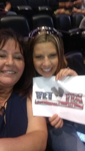 Rose attended Queen + Adam Lambert Live at the Pepsi Center on Jul 6th 2017 via VetTix