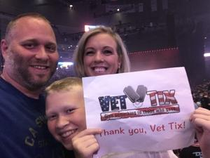 Daniel attended Queen + Adam Lambert Live at the Pepsi Center on Jul 6th 2017 via VetTix