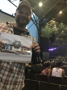 Brandy attended 8 Tour - Incubus With Special Guests Jimmy Eat World and Judah and the Lion - Reserved Seats on Jul 12th 2017 via VetTix